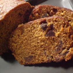 Favorite Chocolate Chip Pumpkin Bread