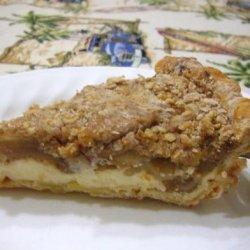 Apple-Cream Cheese Pie