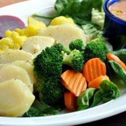 Potato, Beet,cauliflower and Broccoli Salad Platter