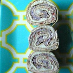 Old Glory  #1 - Tortilla Dessert Wraps (Or Pinwheels)