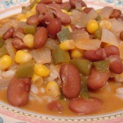 Nigerian Kidney Bean Stew With a Peanut Sauce