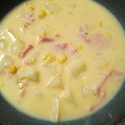 Corn and Potato Chowder--Simple, Flavorful, Versatile