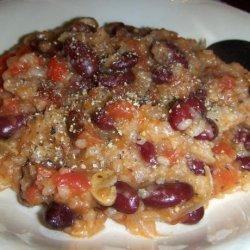 Cajun Red Beans With Andouille Sausage (Crock Pot)
