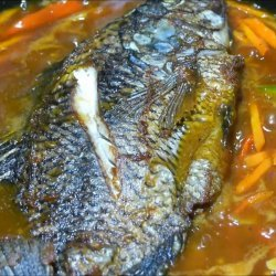 Steamed Whole Tilapia
