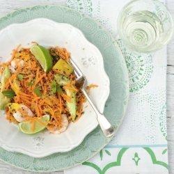 Prawn, Lime and Mango Salad