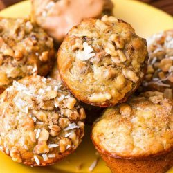 Banana Nut Muffins, Healthy