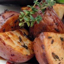 Thyme-Roasted Potato W/ Balsamic Vinegar