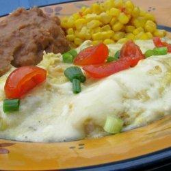 Simple Chicken Enchilada Suizas