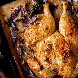 Onion Roasted Chicken