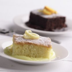Orange Pudding Cake