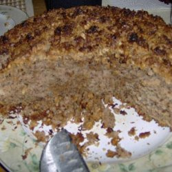 Coconut Streusel Coffee Cake