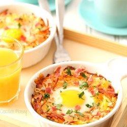 Hash Brown & Egg Bake for Two