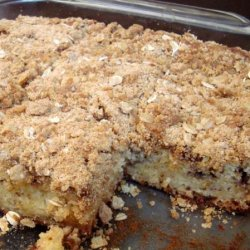 Vanilla and Cinnamon Crumb Cake