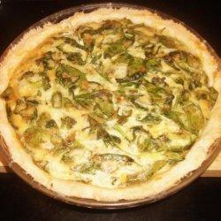 Savory Spinach & Broccoli Quiche