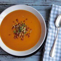 Butternut Squash Soup With Maple