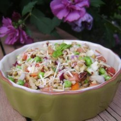 Farro Salad -  a Grain That so Deserves a Try!