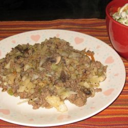 Beef Cabbage Hash
