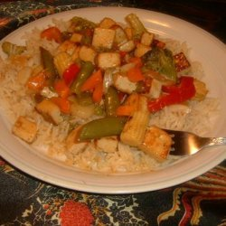 Sweet and Sour Vegetables With Tofu