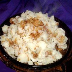 Crunchy, Easy, Onion Garlic Potatoes
