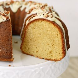 Brown Sugar  Pound Cake With Rum