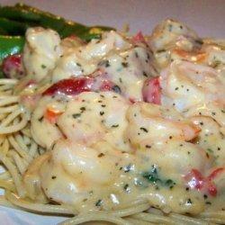 Basil Shrimp Pasta