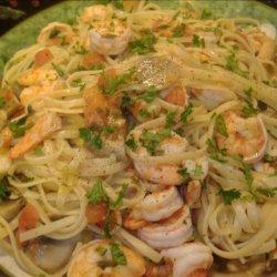 Italian Shrimp Fettuccine