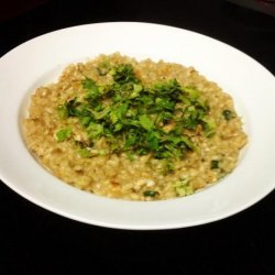 Spicy Lemon Chicken Risotto