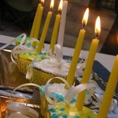 Hanukkah Cupcakes Menorah recipe