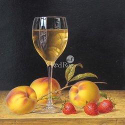 White Wine Peaches