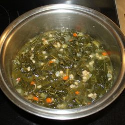 White Bean and Collard Greens Soup