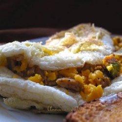 Egg White Puffy Omelette
