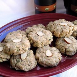 Green Tea Almond Cookies