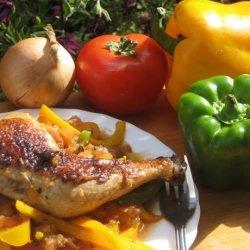 Crock Pot Chicken Cacciatore