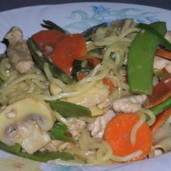 Pheasant and Vegetable Stir Fry