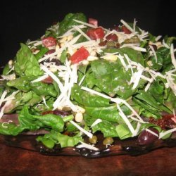 Spinach Salad With Blood Orange/Raspberry Vinaigr