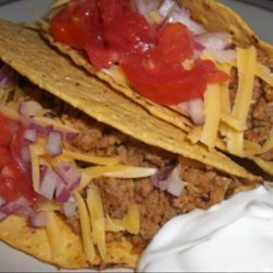 Spicy Turkey Tacos