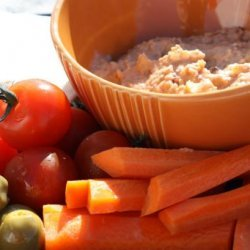 Weight Watchers Smoky Bean Dip With Crudites 2.5 Points