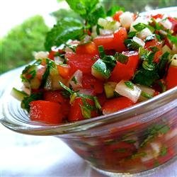 Middle Eastern Tomato Salad