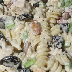 Cherry Chicken Pasta Salad