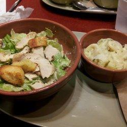 Chicken Alfredo Pasta Salad