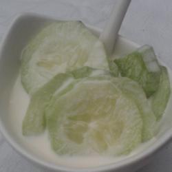 Creamy No-Mayo Cucumber Salad
