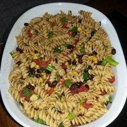 Cold Southwestern Bow Tie Pasta