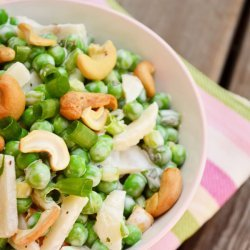 Sweet and Crunchy Pea Salad