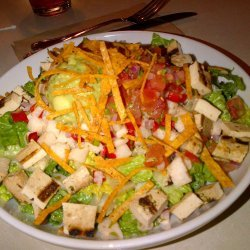 Southwest Salad with Jicama