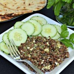 Lentil Salad with Chimichurri Sauce
