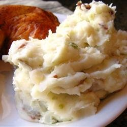 Red Garlic Mashed Potatoes recipe
