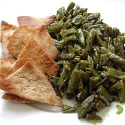 Fasoliyyeh Bi Z-Zayt (Syrian Green Beans with Olive Oil)