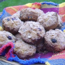 Whole Wheat Blueberry Muffins (Vegan)