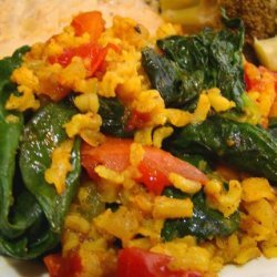 Spinach Pilaf