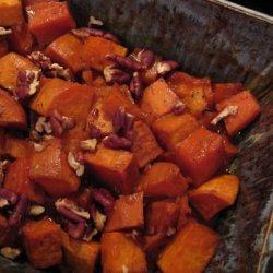 Honey and Whisky Glazed Sweet Potatoes